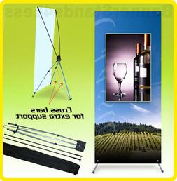 10 Pack - 24x63 Tripod X Banner Stand Trade Show Display Xst