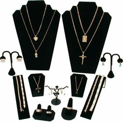 11 piece jewelry display set display stand