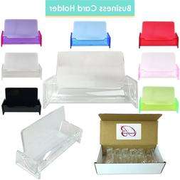 12 High Graded Acrylic Plastic Business Name Card Holder Dis