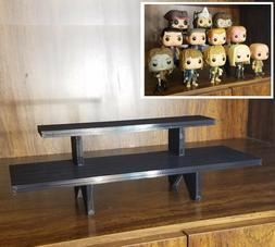 12 inch - Black Funko Pop! Display Stand Shelf - Holds Up to