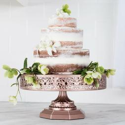 12-Inch WEDDING CAKE STAND Round Metal Event Party Display P