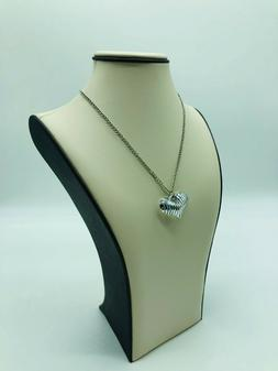 """13.5"""" Tall Luxury Jewelry Necklace Chain Display Stand Bust"""