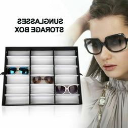 18 Sunglasses Glasses Retail Shop Display Stand Storage Box