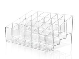 Lingstar 24 Stand Transparent Plastic Trapezoid Acrylic Make