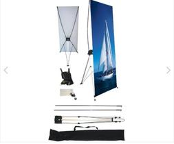 """3 Wall26 24"""" x 63"""" X Banner Stand For Trade Show/Store Displ"""