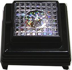 3 LED Crystal Cube Jewelry Light up Display Stand Base - Bat