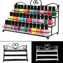 3 Tier Metal Nail Polish Display Stand Organizer Holder Rack