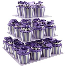 Cupcake Holder,3 Tiered Birthday Party Cupcake Holder Stand