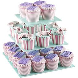 Cupcake Displays, 3 Tier Acrylic Cupcake Display Stands For