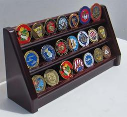 3 Tiers Challenge Coin Encapsulated Coin  Display Stand, Sol