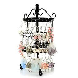 3 Tiers Rotating Spin Earring Holder 72 pairs Earring Organi