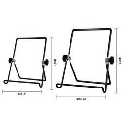 3-Wire Display Stand 1-Pack Display Ledge Black Adjustable W