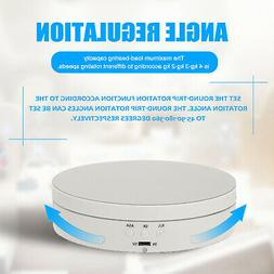 360 Degree Electric Rotating Turntable Display Stand for Pho