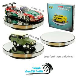"360° Rotary Display Stand 10"" Mirrored Turntable - 1:18 / 1"
