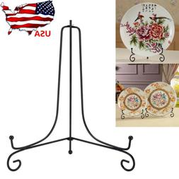 "4""-12"" Iron Easel Bowl Plate Art Photo Picture Frame Holder"