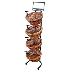 4 tier round willow