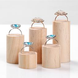 5 pcs wooden ring jewelry font b