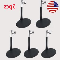 5PCS 1/6 Scale Action Figure Base Display Stand U Type for T