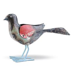 Foreside Home & Garden 76784 Foreside Recycled Metal Bird Sm