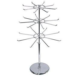 888 Display - 3 Tier Large Metal Stand with Adjustable Tiers