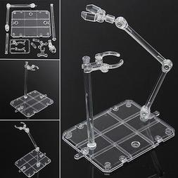 Action Base Suitable Clear Display Stand For 1/144 HG/RG Gun