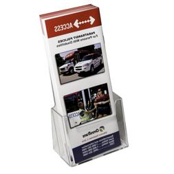 Clear-Ad - LHF-S100 - Acrylic Trifold Brochure Holder - Pamp