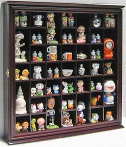 Collectible Display Case Wall Curio Cabinet Shadow Box, Soli