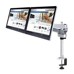Cotytech Dual Apple Monitor Desk Mount Quick Release with Cl