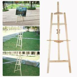 French Easel Wooden Portable W/Display Drawing Board Stand F