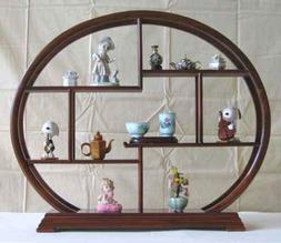 Home Decor Asian Accent Display Rack Stand, Made from Rosewo