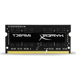 Kingston HyperX Impact Black 4GB 1600MHz DDR3L CL9 SODIMM 1.