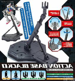 NEW Bandai Hobby Action Base 1 Display Stand , Black Gundam