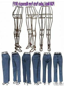 Pants Display Stand Wire Metal Stand for Skirt or Pant Displ