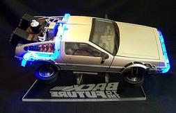 acrylic display stand for 1/15 diecast DeLorean Back to the