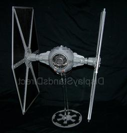 acrylic display stand for Hasbro Large wing Tie Fighter Star