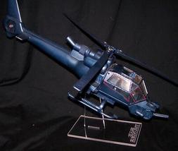 acrylic display stand for  vintage MTC Blue Thunder helicopt