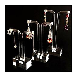 Svea Display Acrylic Earring Display Stands Clear Modern Des