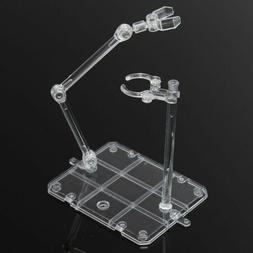 Clear Action Fighting Base Display Stand Holder for 1/144 HG