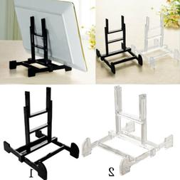 Adjustable Display Stand Easel Plate Holder Picture Photo Fr