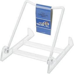 Darice Adjustable Easel Display Stand 4.5 Inches White