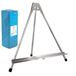 US Art Supply Aluminum Tabletop Easel Tri-Pod Display Table
