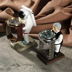 astronaut watch stand old housekeeper jewelry display