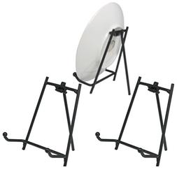 Black Display Stand - Set of 3 Metal Easels - Wrought Iron P