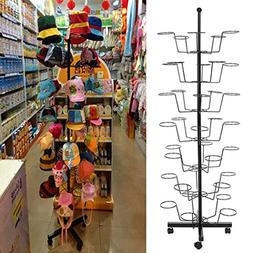 Dtemple Black Friday Deals 7-Tier 35 Hat Cap Rack/ Metal Hat