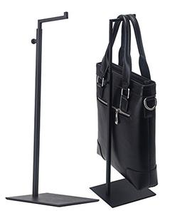 Nipole Black Metal Adjustable Handbag/bag Display Stand Hold