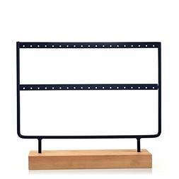 JOLY Black Metal Jewelry Earring Holder / Organizer / Stand