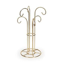Darice Bulk Buy DIY Crafts Brass Display with 6 Hangers 12 i