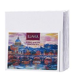 Canvas Panels - 24-Pack Small Canvas Boards, Acid Free Blank