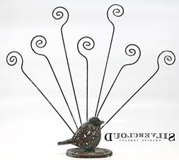 Silvercloud Trading Co. Cast Iron and Metal Bird Multiple Ph