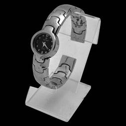clear acrylic jewelry watch display stand holder